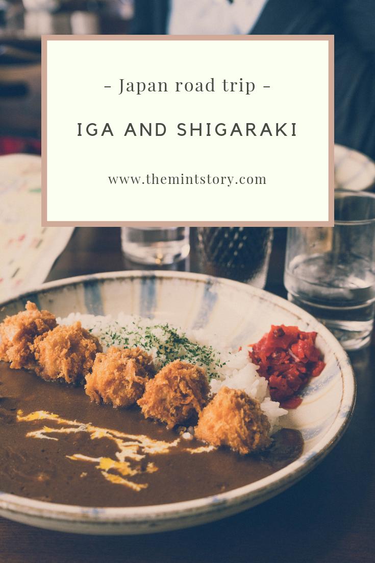 Iga and Shigaraki travelogue
