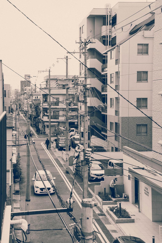 A street near Shin-Kobe station