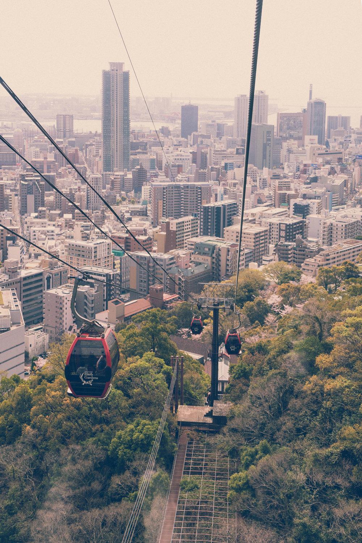 View from Shin-Kobe ropeway