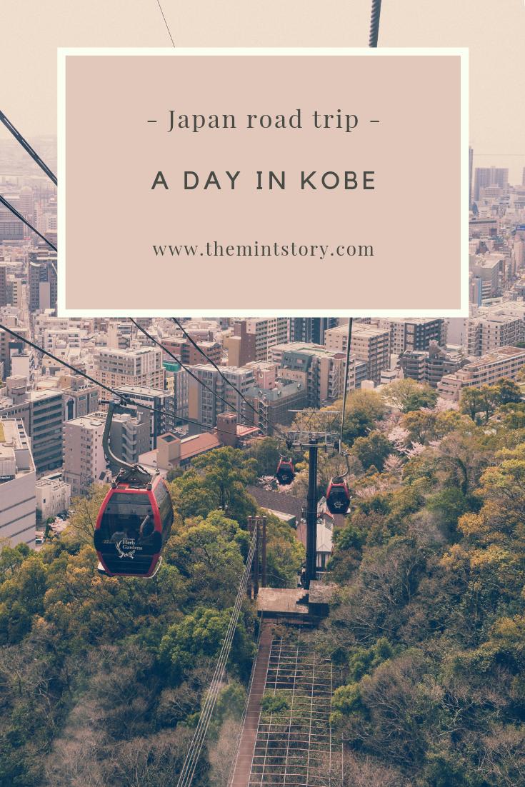 A day in Kobe, Japan