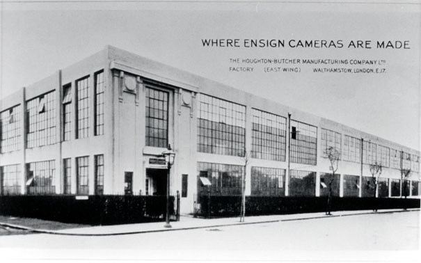 Ensign camera factory Fulbourne Road Walthamstow E17