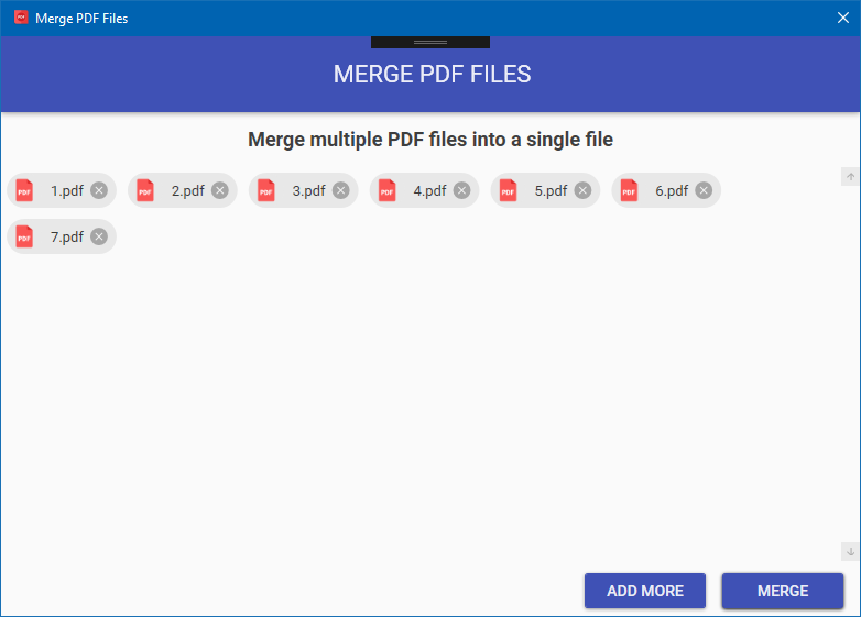 Merge and Combine PDF Files