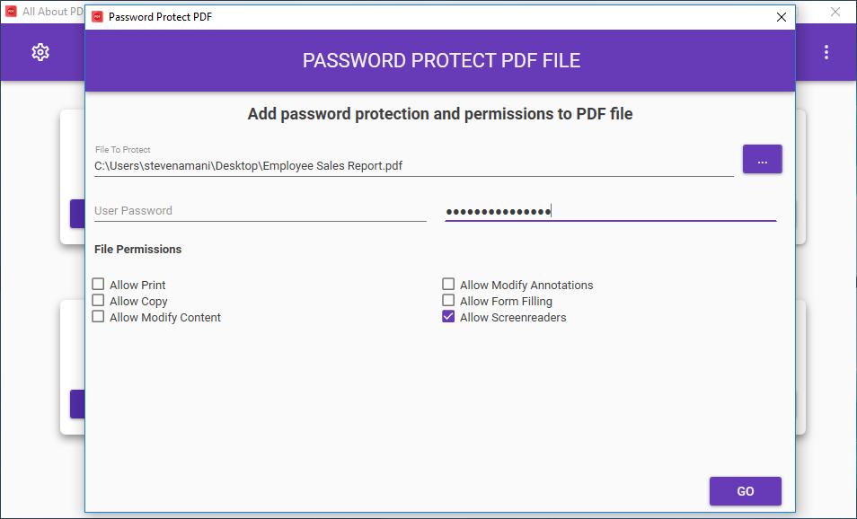 protect pdf, make pdf uneditable, make pdf not editable, pdf security