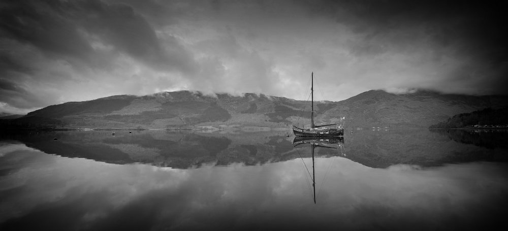 The Perfect Reflection - by Malcolm HarrisScotland, 2013.