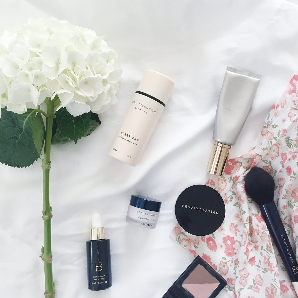 Beautycounter products | Robe, c/o Pink Blush Maternity