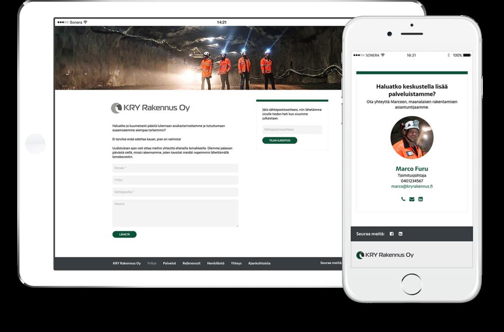 Sivuston uudistumisen aikana verkkokävijöitä palveltiin yhteydenottolomakkeella ja ilmoituksella sivuston aukeamisesta. Jo tässä vaiheessa verkkosivusto keräsi tietoa kävijöistä, vaikka sivusto julkaistiin myöhemmin.