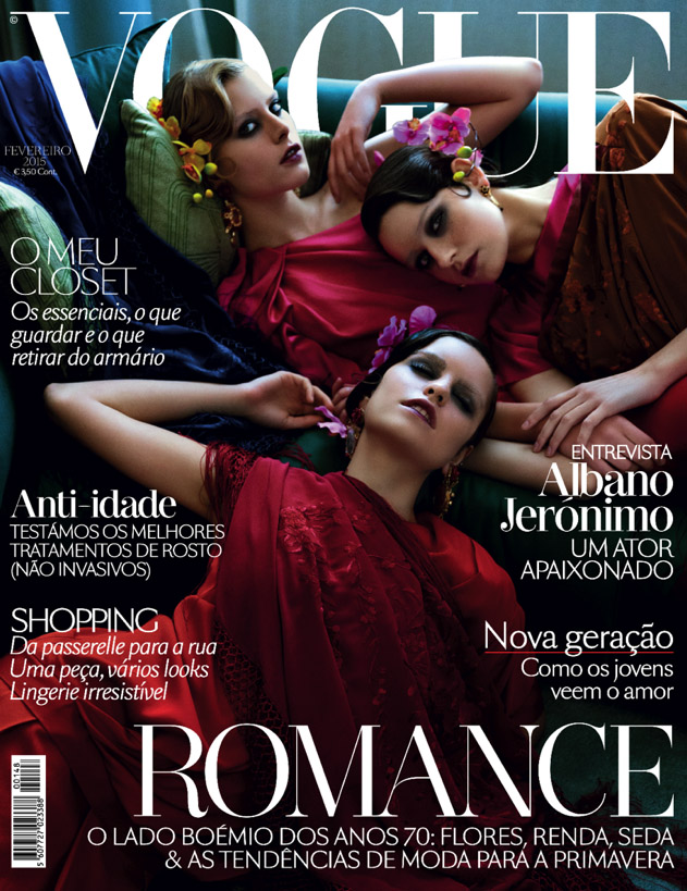 Isabel Pinto of Artists & Legends shoots the cover story for VOGUE Portugal
