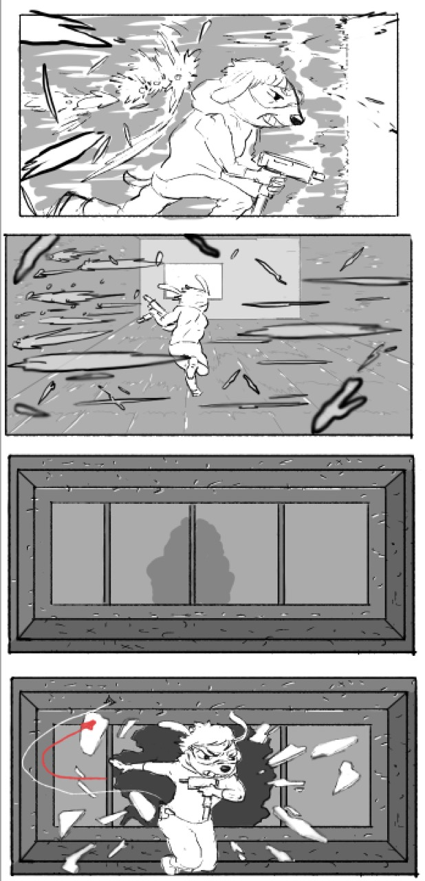Random storyboards for myself.