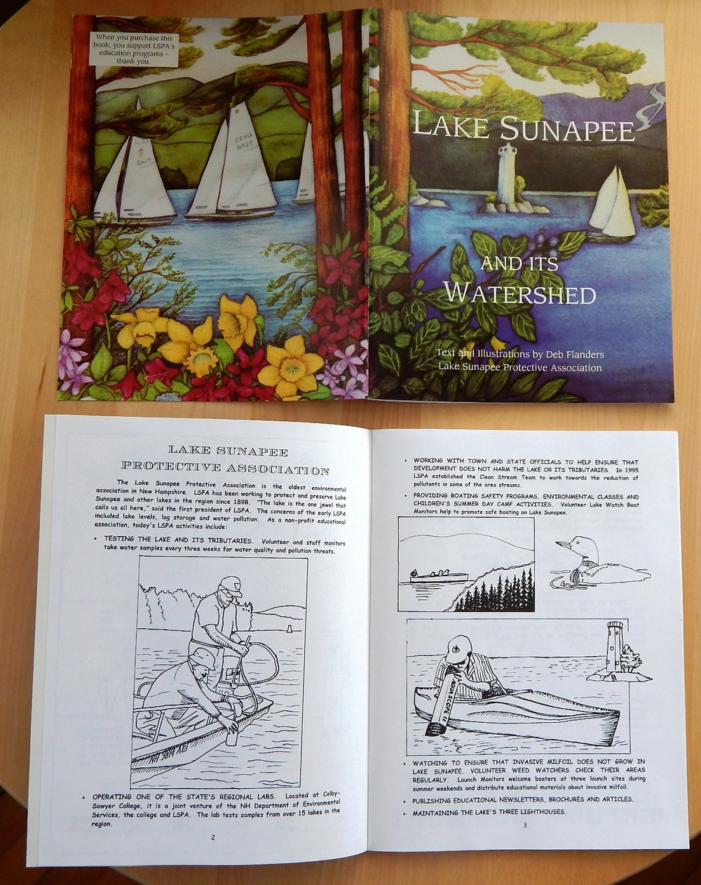 Watershed Guide Coloring Book   $5.00