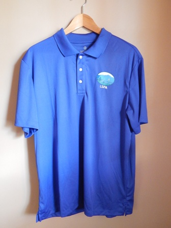 Blue Active Short Sleeve Polo Shirt (Men and Women Sizes) $30.00