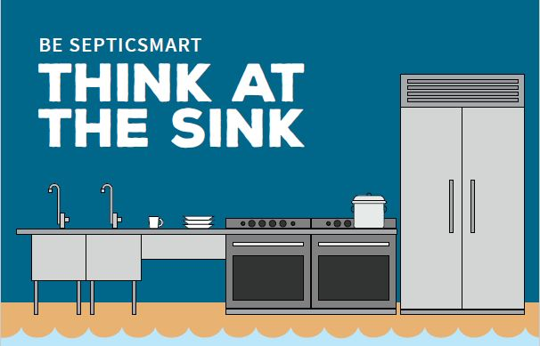 "Click here  to download a printable copy of EPA's ""Think at the Sink"" poster."