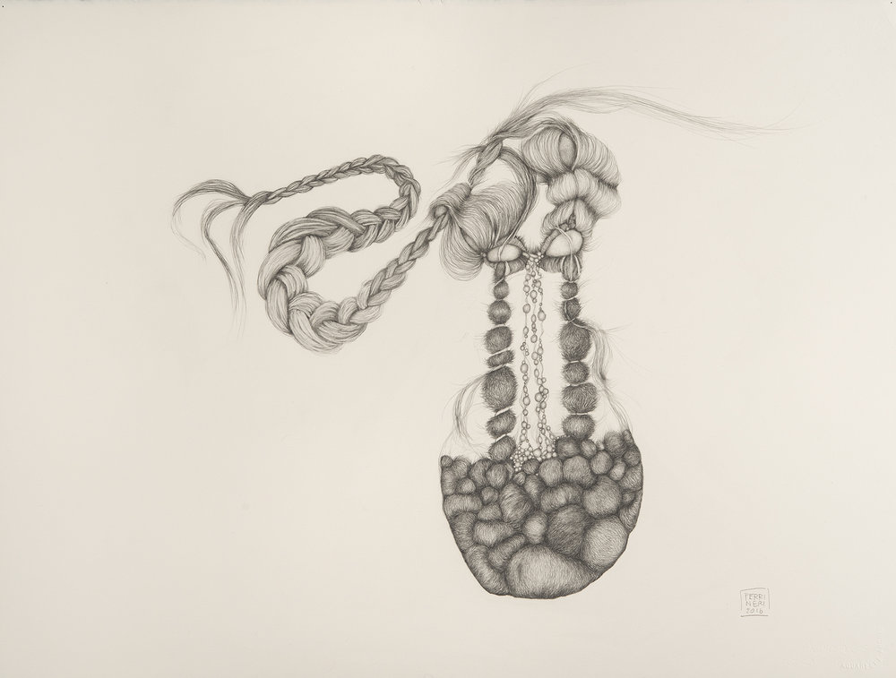 "Spit Spot, 2017, graphite on Arches paper, 22"" x 30"""