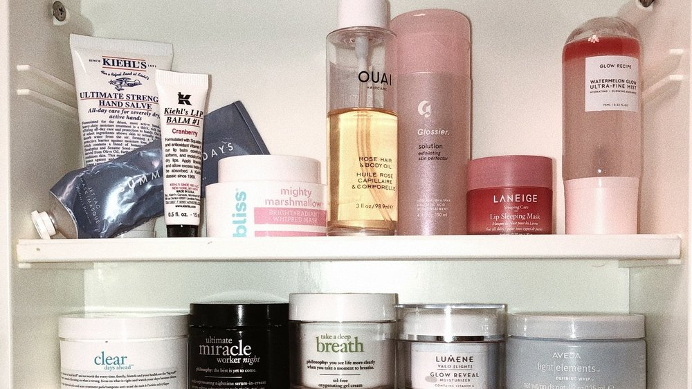 Beauty products I can't live without -