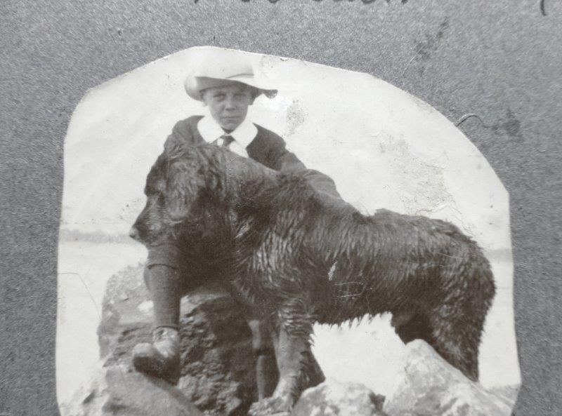 Close up of W E Price in 1906