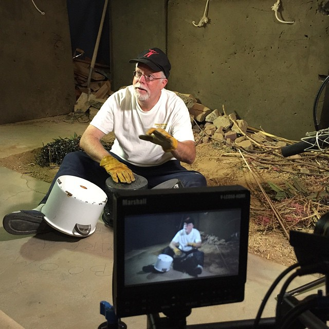 "Foley Artist John Roesch Performing Foley for ""Who Frame Roger Rabbit"""