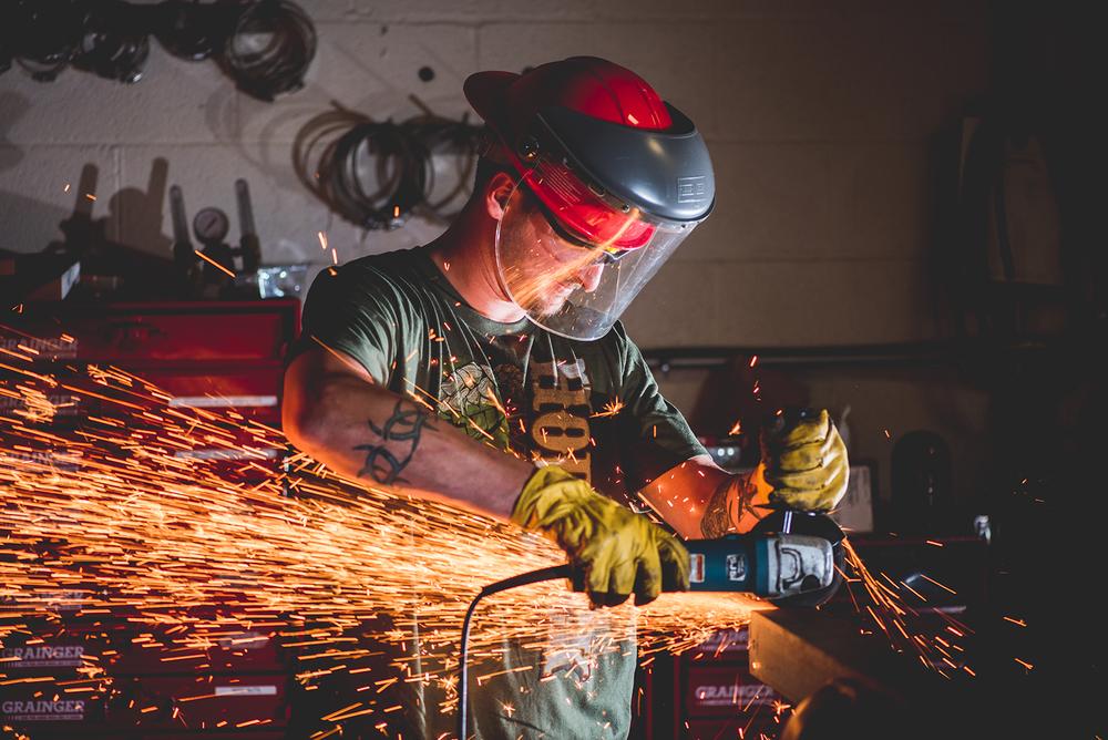 Metal Work Sparks Troegs