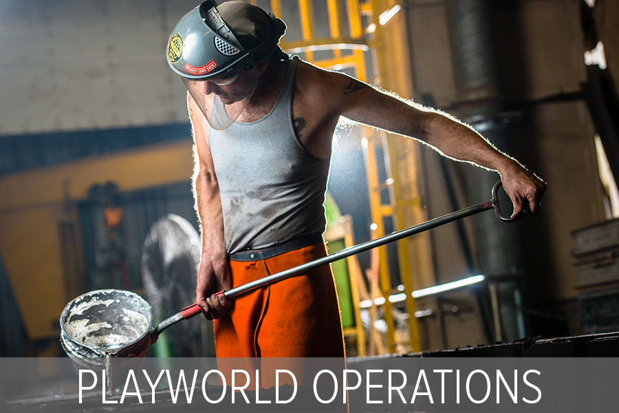 Playworld Operations Places