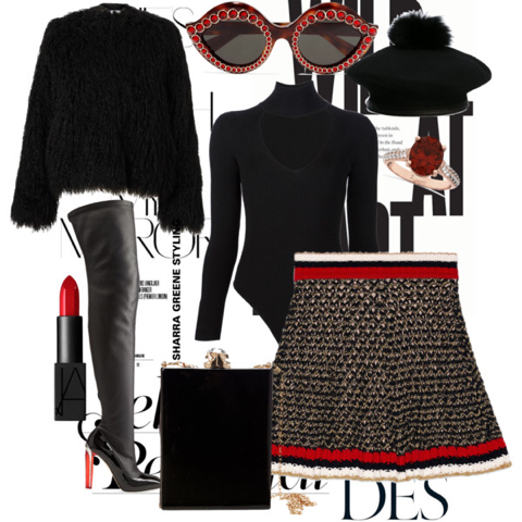 Cherry Liquorice on Polyvore.