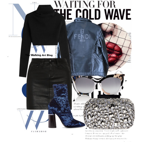 A Cold Wave on Polyvore.