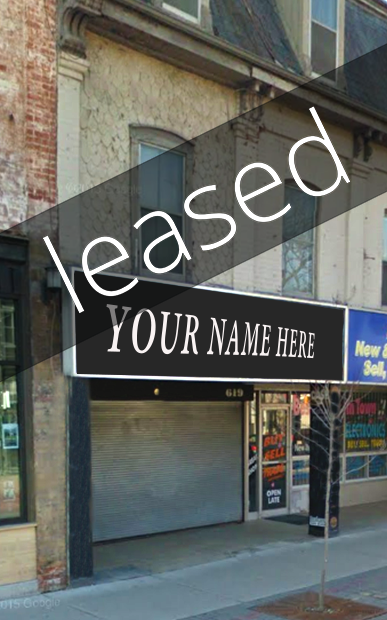 Ideally located in Old East Village, this retail space has a frontage of more than 40'.