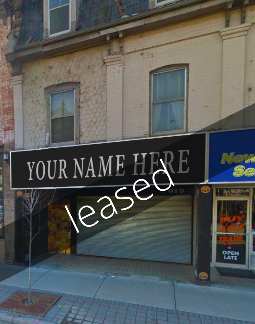 NOW LEASED! 619 #B Dundas Street, London