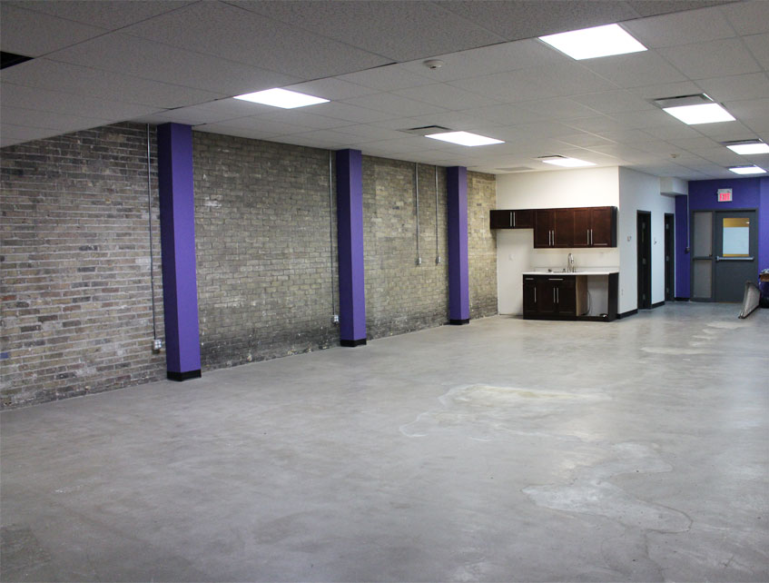 242 Dundas Street main level rear office space