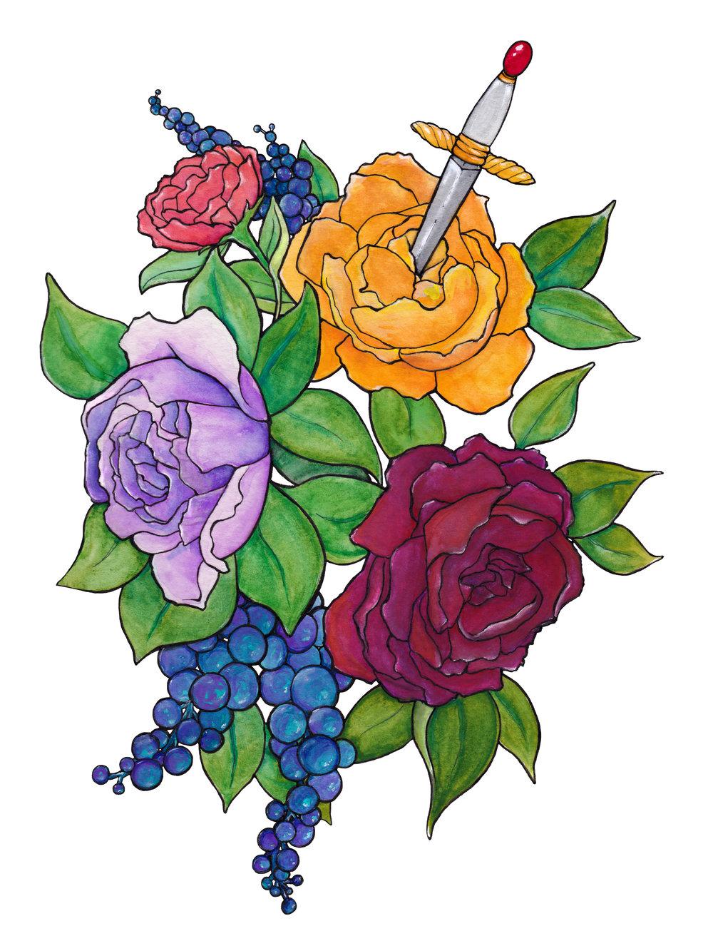 Floral 4.