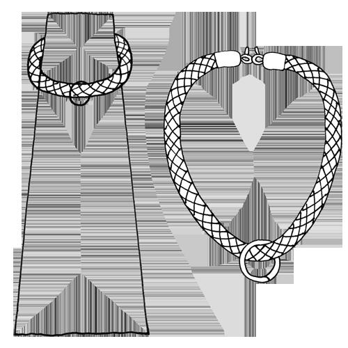 Cordón con mosquetones | Corda con moschettone