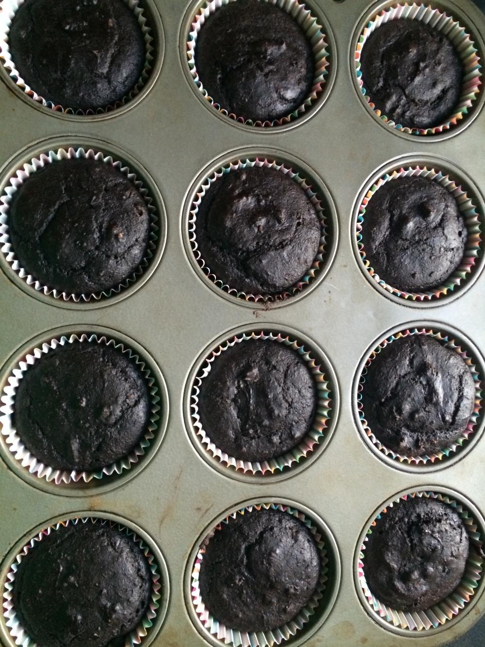 choco chai cupcakes