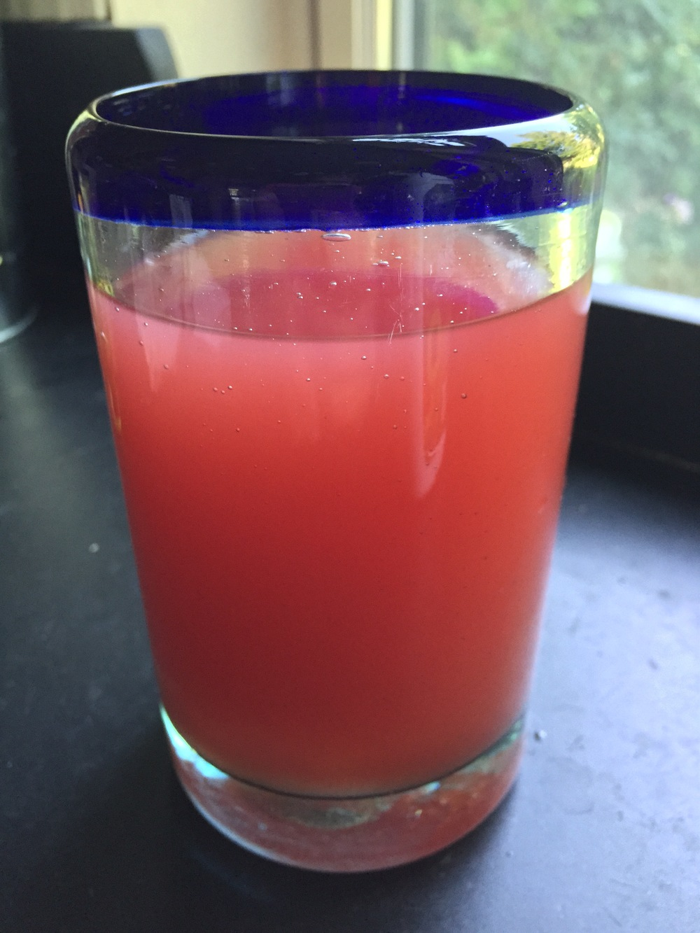 Watermelon-Lime Agua Fresca