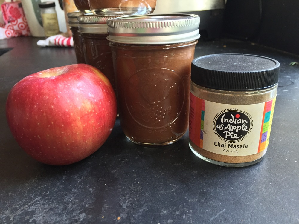 Apples. Slow Cooker Chai Spiced Apple Butter. And spice mix from Indian as Apple Pie.