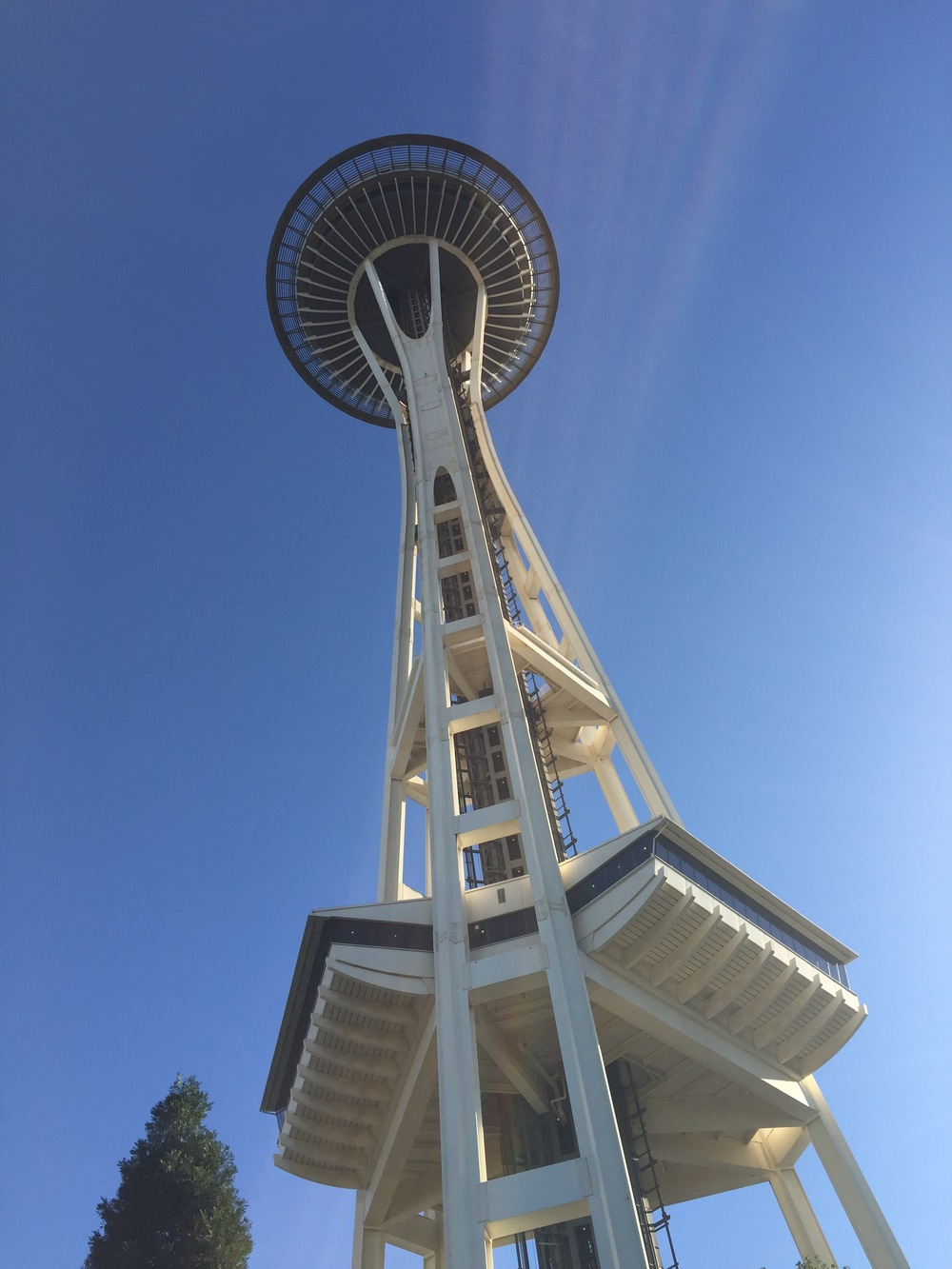 The Space Needle, Seattle.