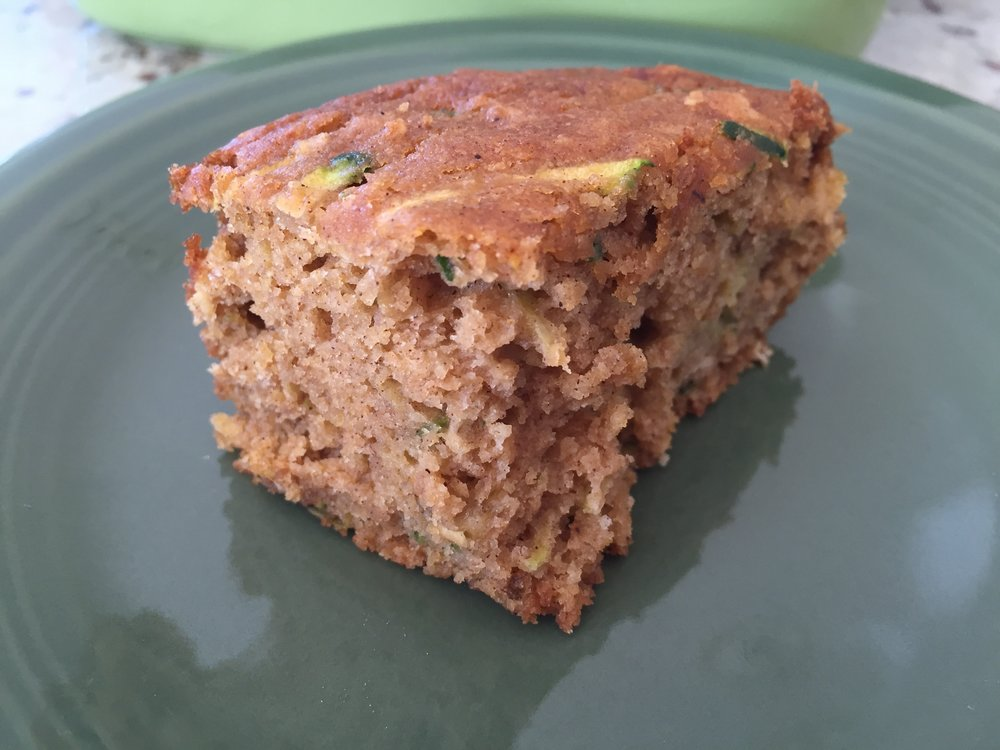 Gluten free zucchini pumpkin cake. So simple but do not underestimate this cake!