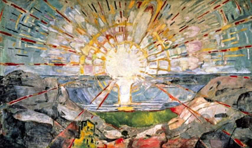 The Sun, Edvard Munch
