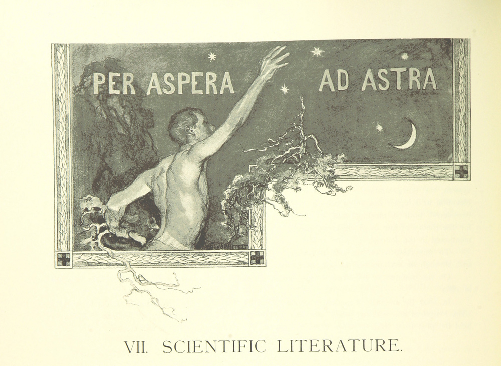 Per Aspera Ad Astra - Through hardships to the stars