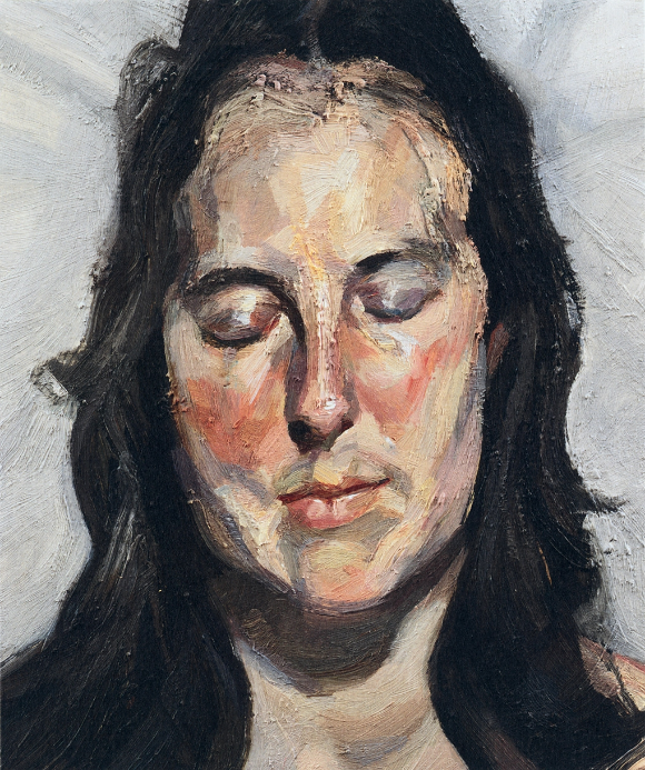 Woman with Eyes Closed by Lucian Freud. Stolen from the Kunsthal in Rotterdam in 2012. Still not recovered.
