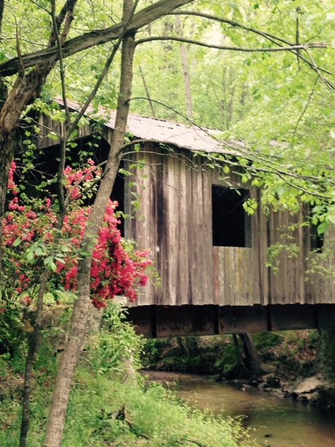 A stroll to the beautiful covered bridge