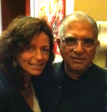 Deepak Chopra, a dear teacher of mine.  He has taught, inspired,                                                                                              endlessly and effortlessly guides me to go deeper into the practices of                                                                                              Ayurveda, yoga, meditation