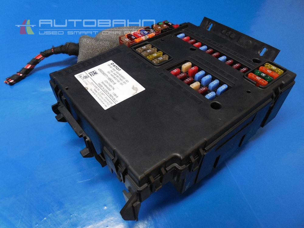 Fortwo Passion Pure 2008-2015 OEM Complete Fuse Box ...