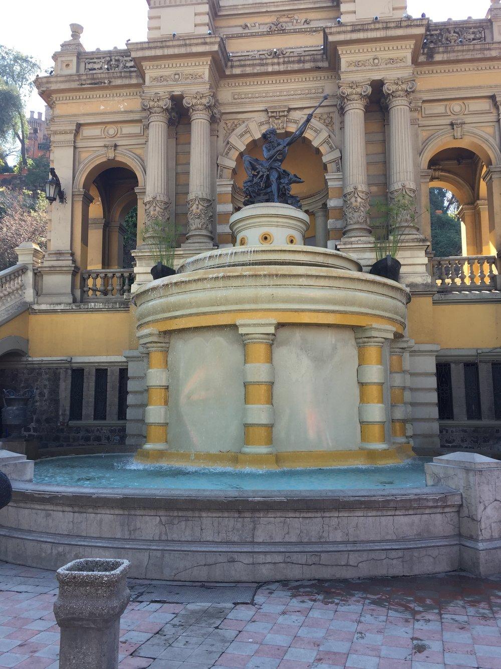 Fountains, fountains, everywhere.