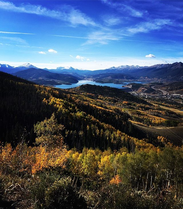 It's fall in Colorado and we are very pleased about it. . . . . . #mountainlife #mountains #silverthorne #travelphotography #colorado #quick10miles #trailrunning #trailstumbling #hikingadventures #fall #outdoorliving