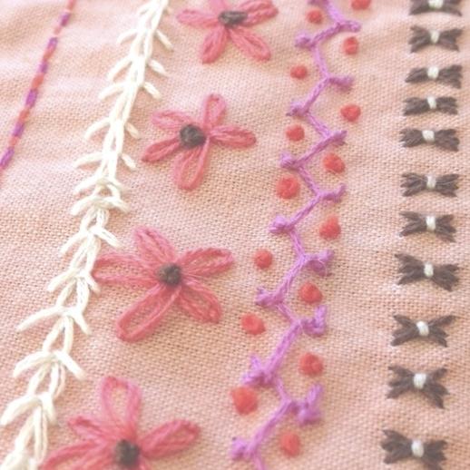 Embroidery 101 Sample Stitches Fiber Vine