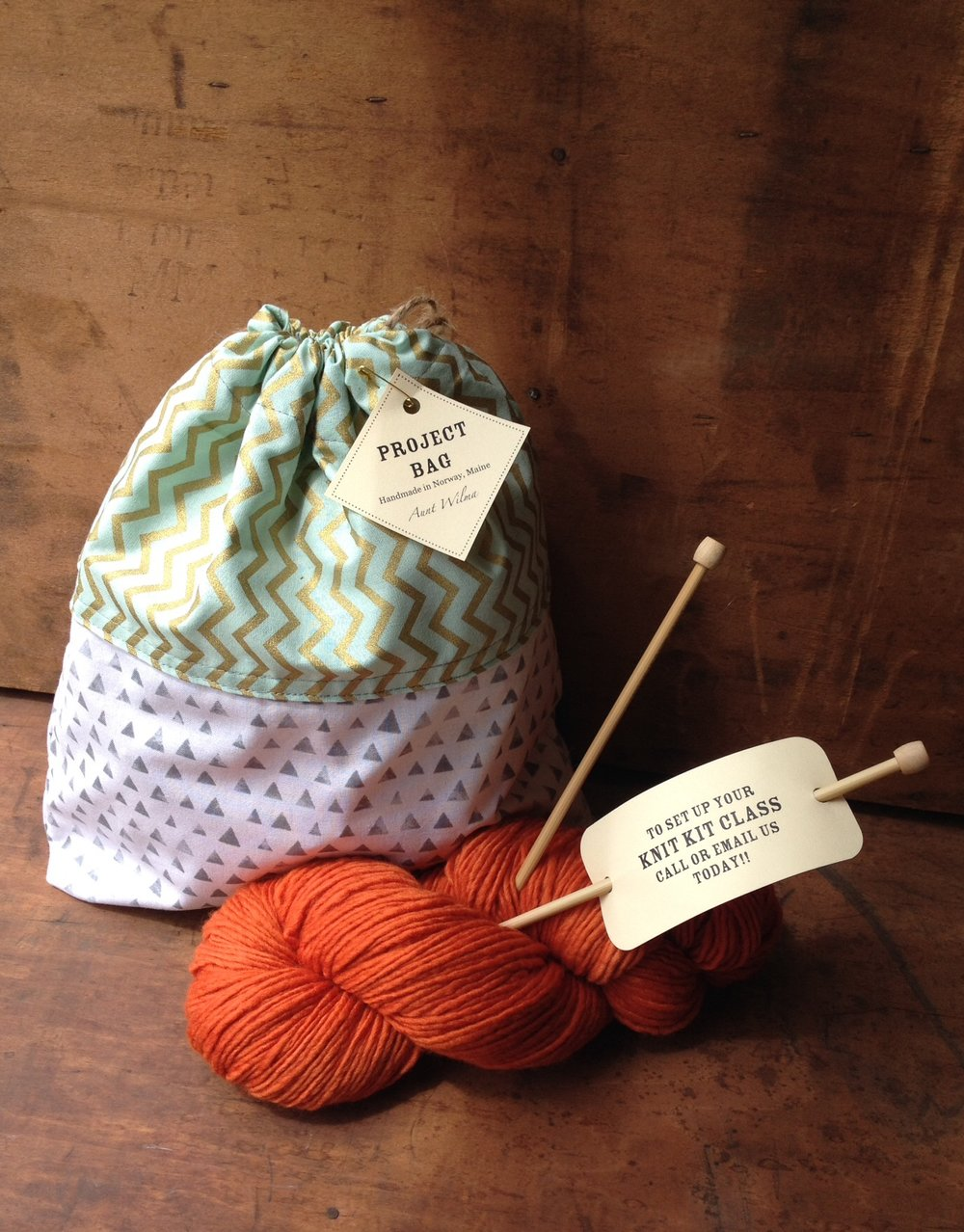 Our Learn to knit kit comes with all that you need to become a knitter, including a free two hour knitting lesson!