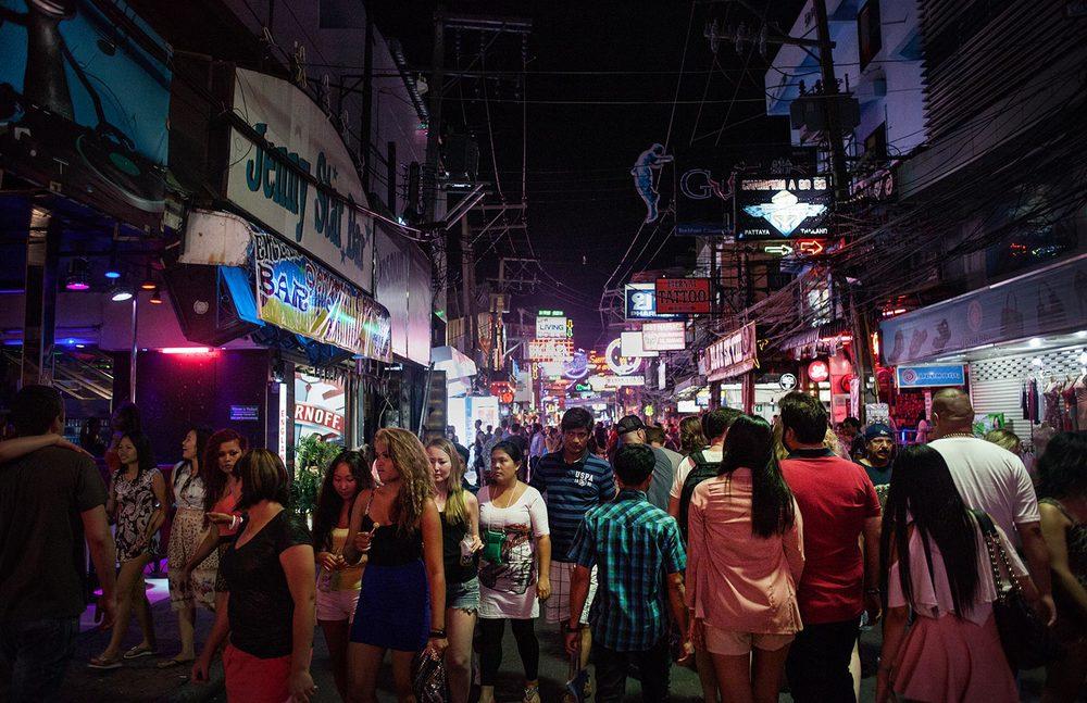 Pattaya the land of sex - Walking street