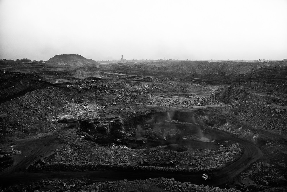 Jharia Mining  - A open mine