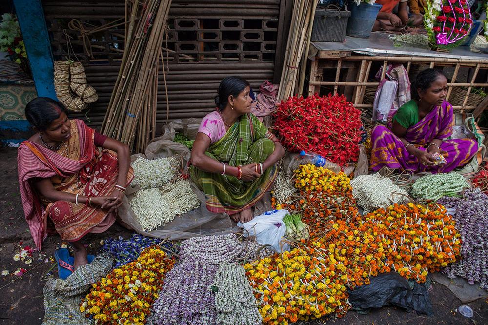 Flower market Howrah07.jpg