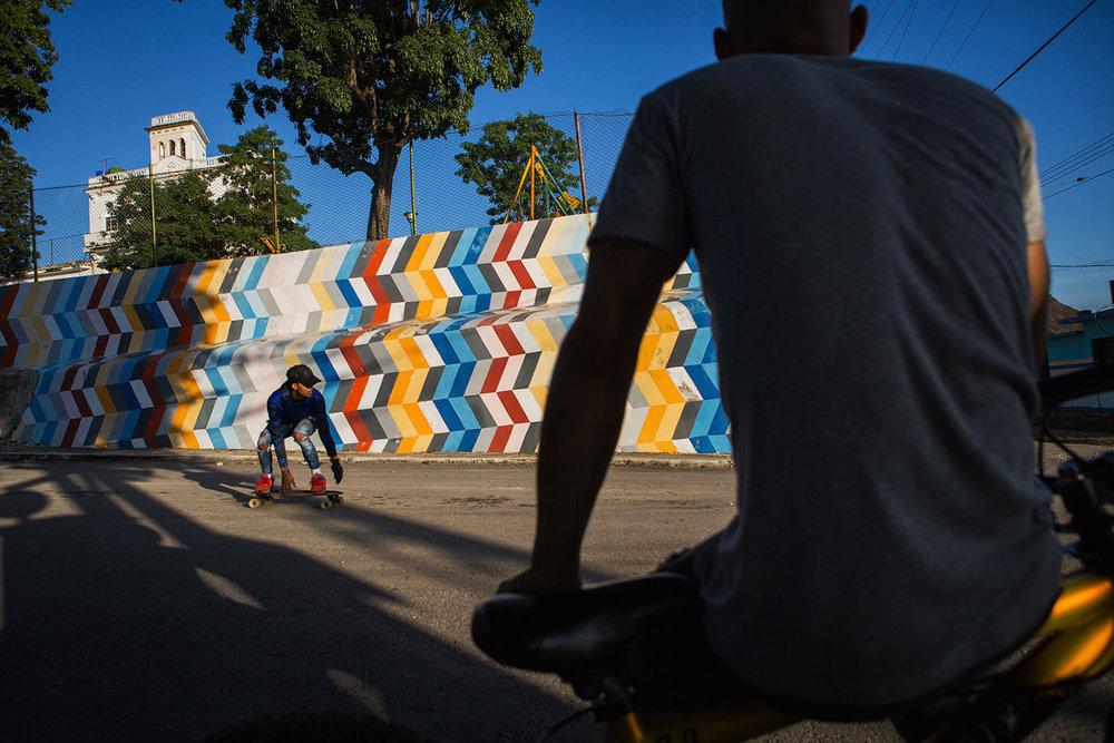 Habana skater. Habana- Cuba