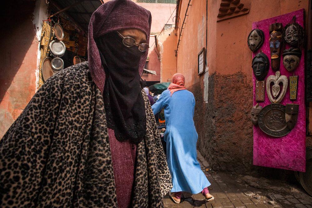 Marrakech masks. Morocco