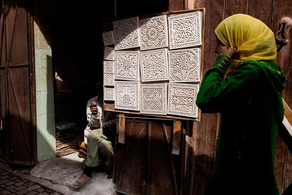 Souk of Marrakech- Morocco