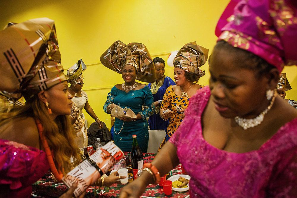 Nigerian Party in Italy